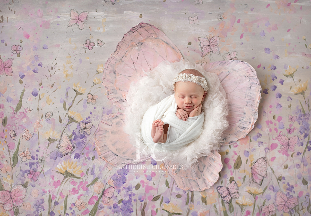 Spring Newborn Portraits