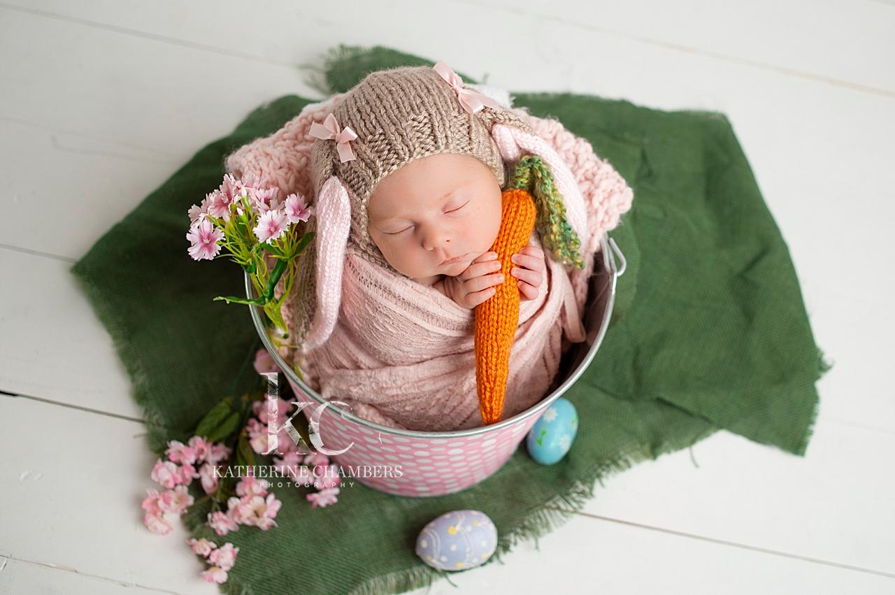 Newborn Easter Bunny | Cleveland Ohio