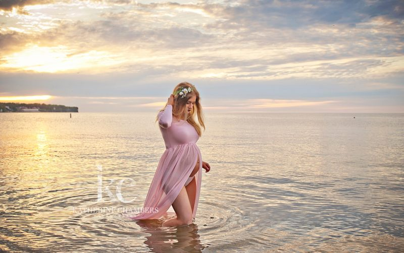 Lake Erie Maternity Photo Session
