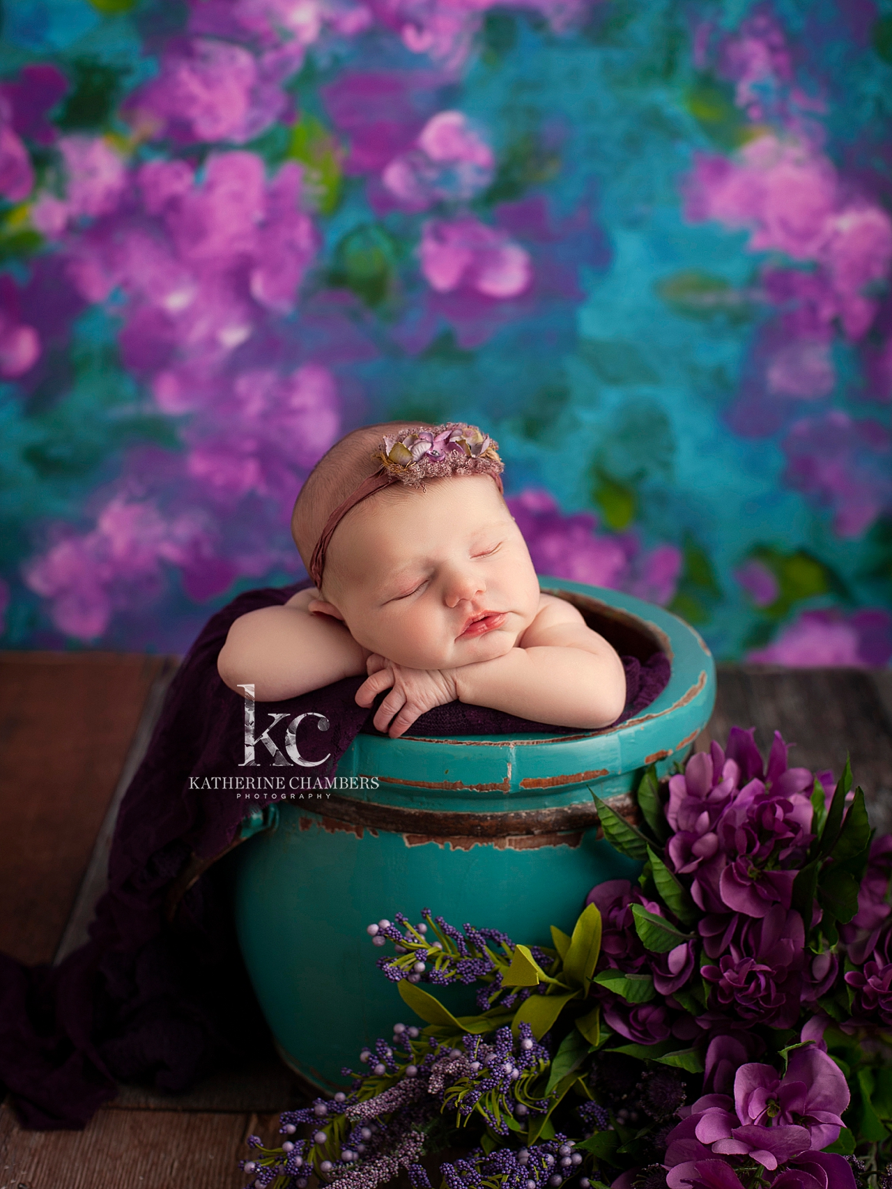 Violet Newborn Photography | Cleveland Newborn Photographer