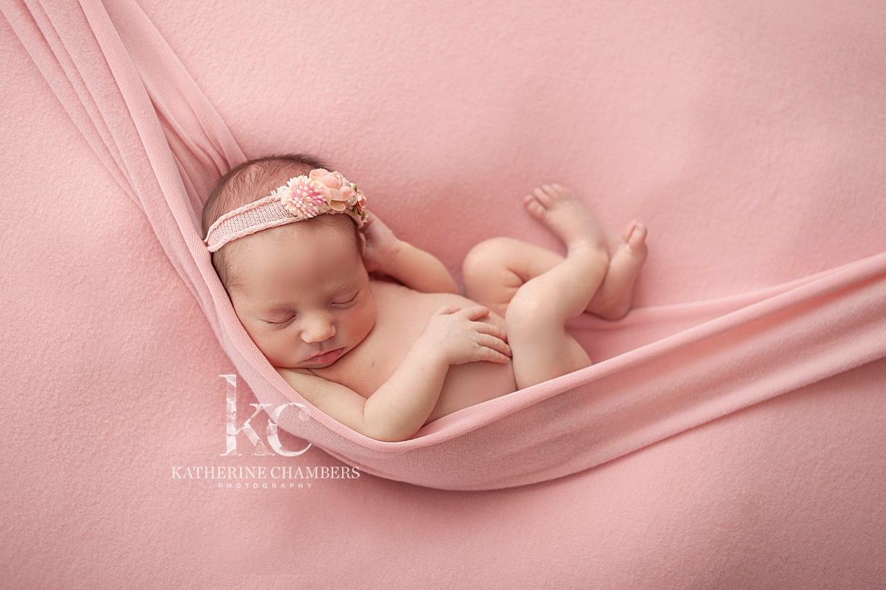 Baby in a sling | Avon Ohio Newborn Photography