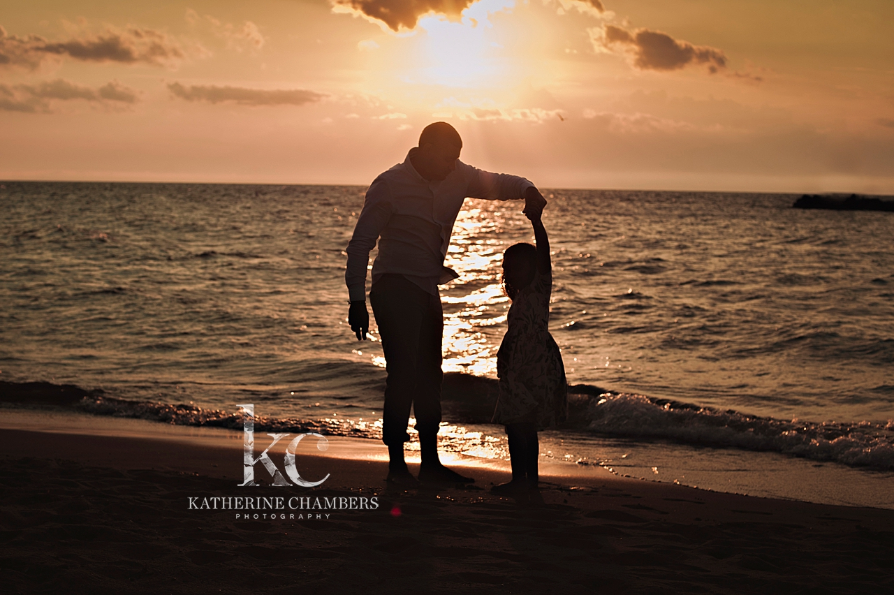 Daddy Daughter Dance | Silhouette Photography