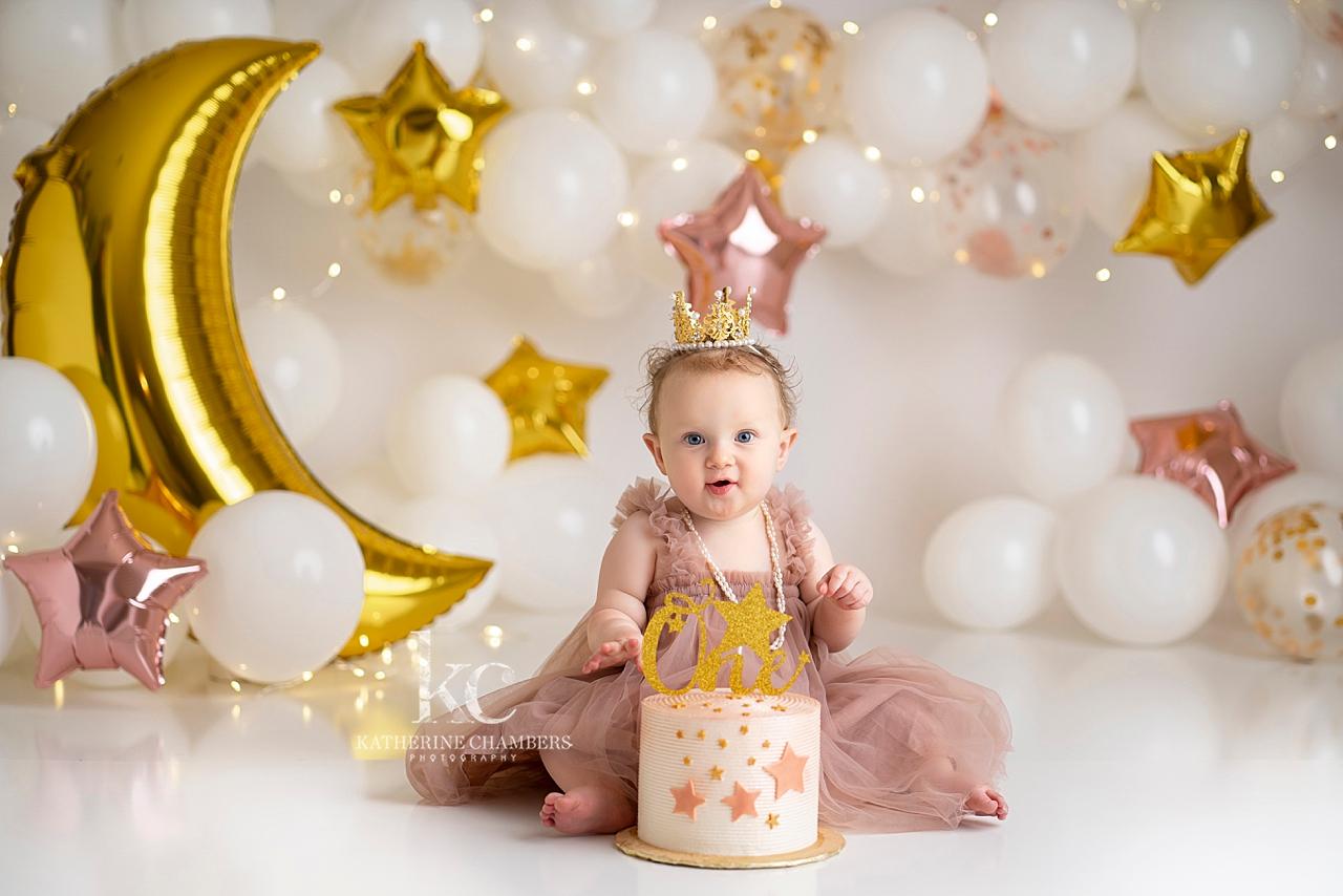 Wish Upon a Star Cake Smash