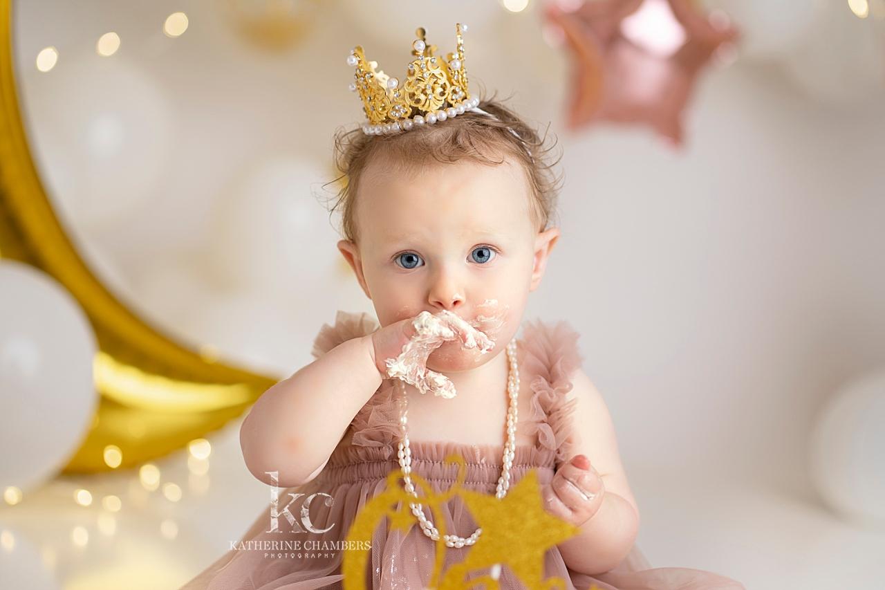 Baby Session in Cleveland Ohio | Cake Smash Photo Session