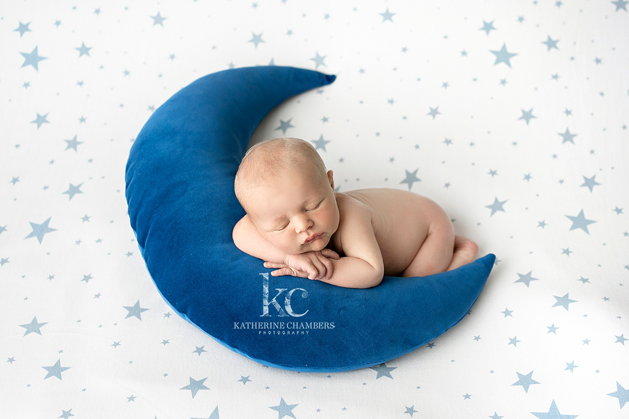 Newborn Moon Prop | Newborn Baby Photo Session