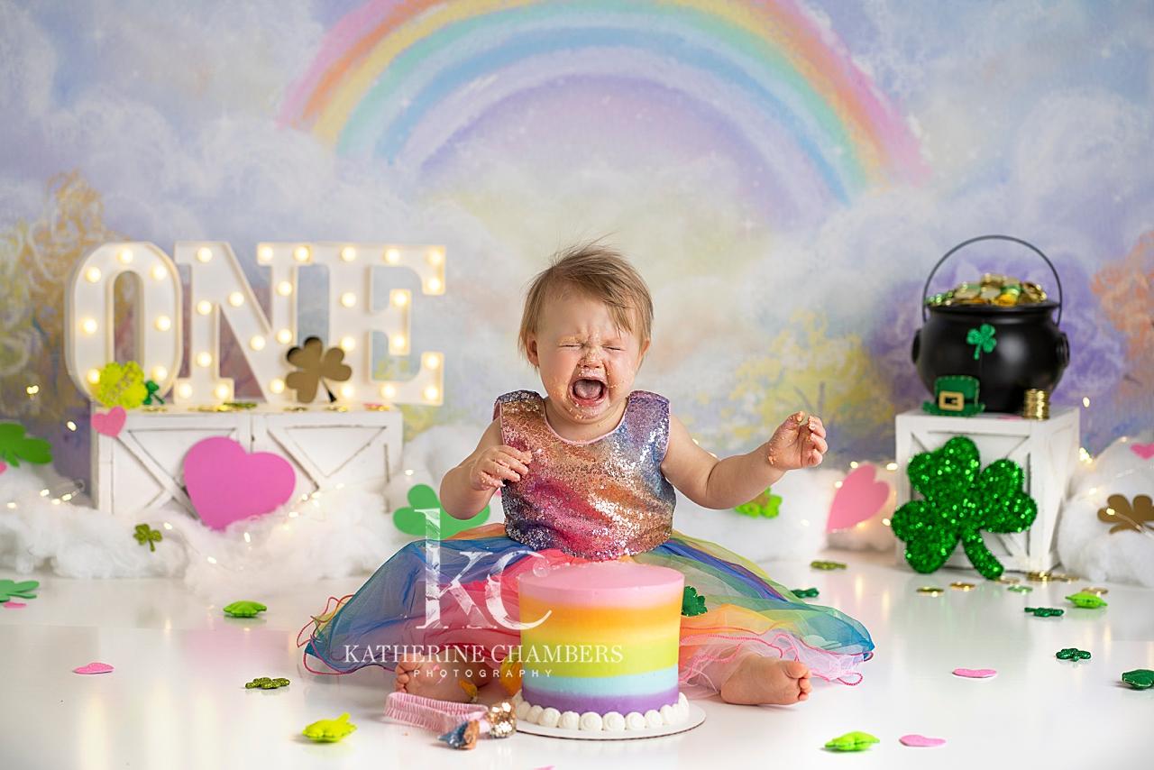 Cake Smash Photographer in Cleveland